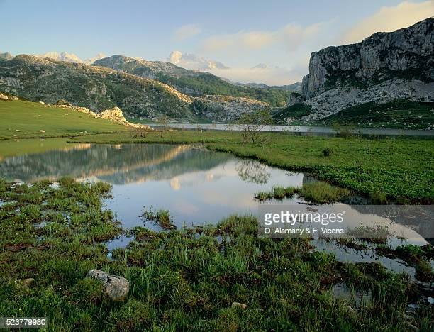 Ercina Lake and Parque Nacional Picos de Europa
