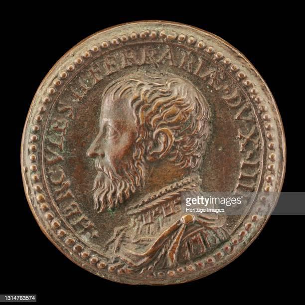 Ercole II d'Este, 1508-1559, 4th Duke of Ferrara 1534, 1534. Artist Pastorino Pastorini.