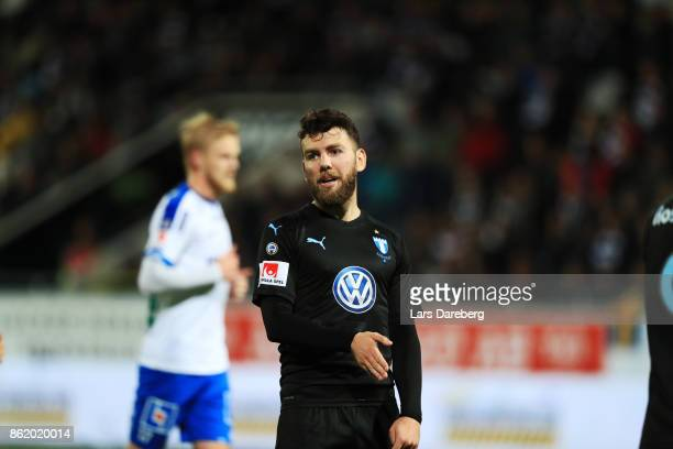 Erdal Rakip of Malmo FF during the Allsvenskan match between IFK Norrkoping and Malmo FF at Ostgotaporten on October 16 2017 in Norrkoping Sweden
