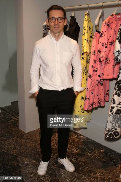 Erdem attends a cocktail party hosted by Erdem to celebrate Pleasure Garden Magazine Issue 5 'Au Naturel' at the Erdem London Flagship store on June...