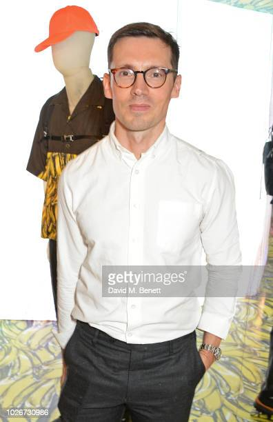 Erdem Moralioglu attends as Matchesfashioncom and Prada celebrate the launch of 5 Carlos Place and their exclusive collaboration on September 4 2018...