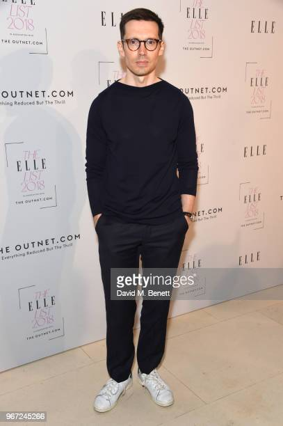 Erdem Moralioglu attends THE ELLE LIST 2018 in association with THEOUTNETCOM at Spring at Somerset House on June 4 2018 in London England