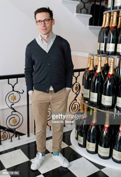 Erdem Moralioglu attends the Moet Summer House VIP launch night on June 7 2018 in London England
