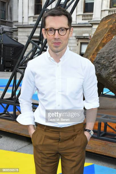 Erdem Moralioglu attends the Royal Academy Of Arts summer exhibition preview party 2018 on June 6 2018 in London England
