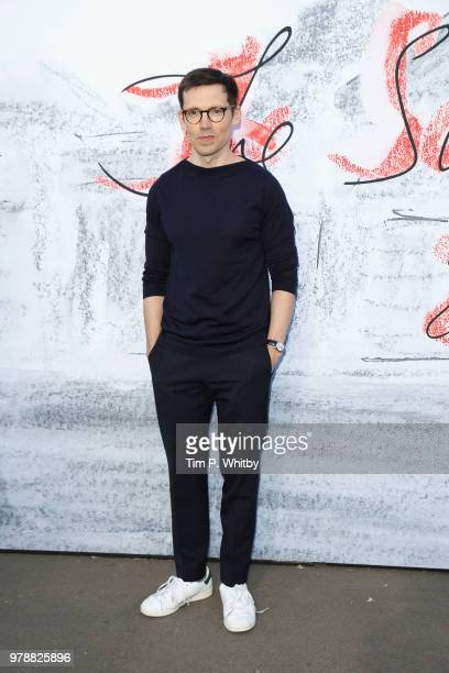 Erdem Moralioglu attends the Serpentine Summer Party 2018 at The Serpentine Gallery on June 19 2018 in London England