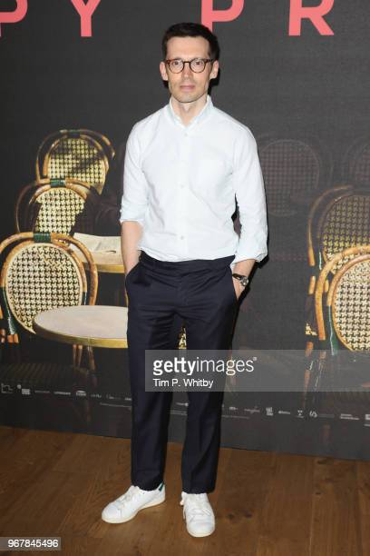 Erdem Moralioglu attends the UK premiere of 'The Happy Prince' at Vue West End on June 5 2018 in London England