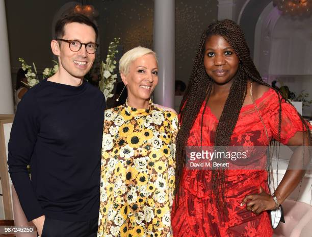 Erdem Moralioglu to AnneMarie Curtis and guest attend THE ELLE LIST 2018 in association with THEOUTNETCOM at Spring at Somerset House on June 4 2018...