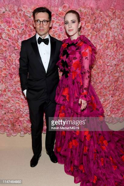 Erdem Moralıoğlu and Rachel Brosnahan attend The 2019 Met Gala Celebrating Camp Notes on Fashion at Metropolitan Museum of Art on May 06 2019 in New...
