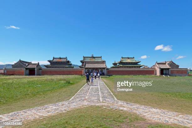 erdene zuu monastery in mongolia - gwengoat stock pictures, royalty-free photos & images