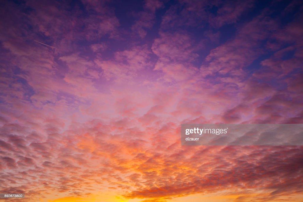 Erding´s Sunset : Stock-Foto