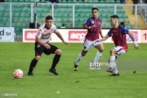 Erdis Kraja during the serie D match between SSD Palermo and ASD Troina at Stadio Renzo Barbera on December 22, 2019 in Palermo, Italy.