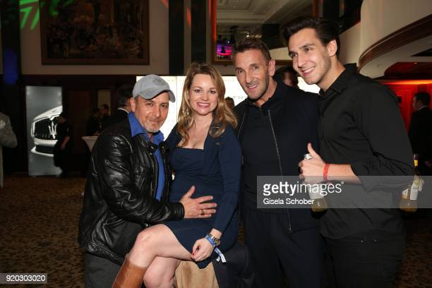 "Erdogan Atalay and his pregnat wife Katja Ohneck, Mark Keller and his son Joshua Keller during the Movie Meets Media ""MMM"" event on the occasion of..."