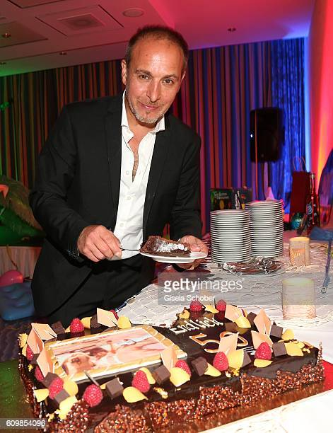 Erdogan Atalay during the surprise party for Erdogan Atalay's 50th birthday at Hotel Arkona on September 22 2016 in Binz Germany