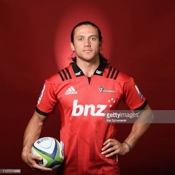 Crusaders Super Rugby Training Session: Crusaders Headshots Photos Et Images De Collection