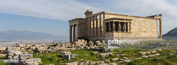 Erechteum Caryatids in Acropolis of Athens