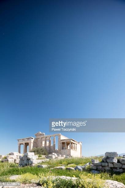 Erechtion, temple in honor of Athena and Poseidon on Acropolis Hill, Athens