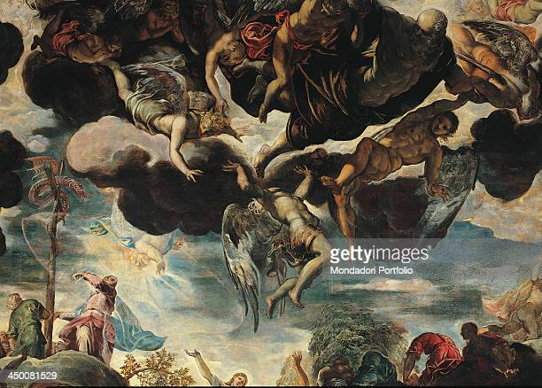 Erection of the Bronze Snake by Jacopo Robusti known as Tintoretto 16th Century 840 x 520 cm