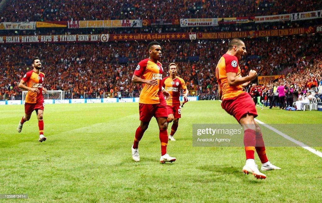 Galatasaray vs Lokomotiv Moscow: UEFA Champions League : Foto di attualità