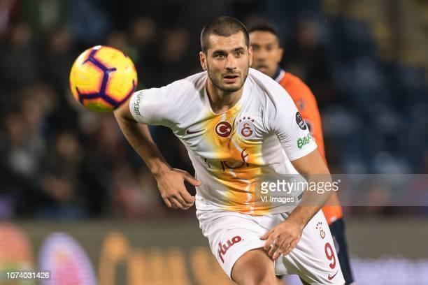 Eren Derdiyok of Galatasaray SK during the Turkish Spor Toto Super Lig match between Medipol Basaksehir FK and Galatasaray AS at the Recep Fatih...