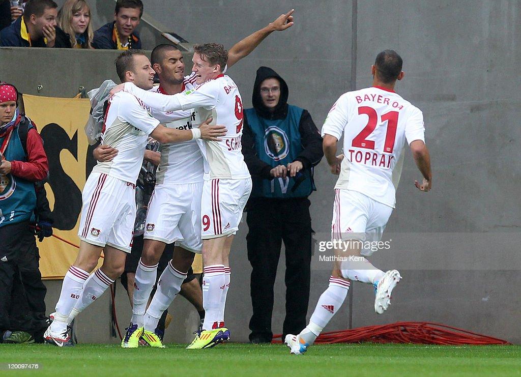 Dynamo Dresden v Bayer Leverkusen - DFB Cup