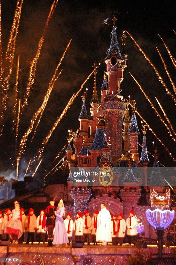 Eröffnung der Weihnachtssaison 2008, \'Cinderella\'-Schloß ...