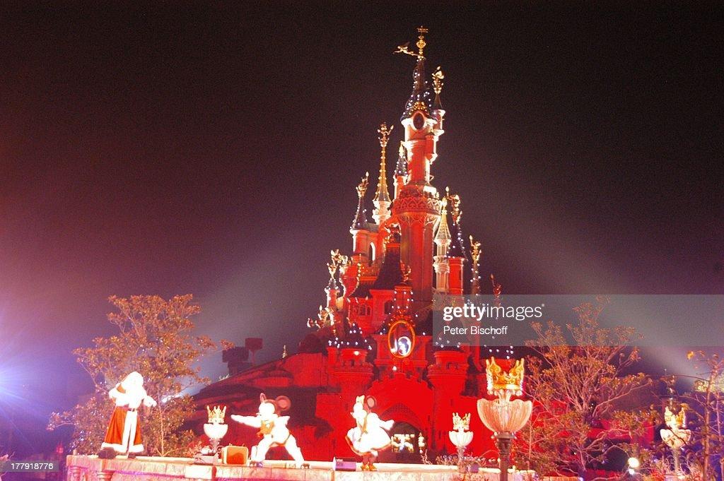 Eröffnung der Weihnachtssaison 2008, \'Cinderella\'-Schloß, \'Disne ...