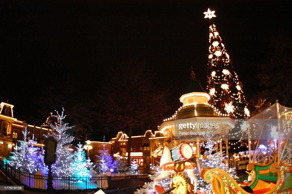 Eröffnung der Weihnachtssaison 2008, \'Town Square\'-Platz, \'Disne ...