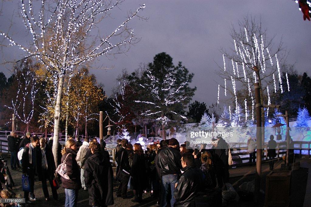 Eröffnung der Weihnachtssaison 2008, Weihnachtsdorf, \'Disneyland ...