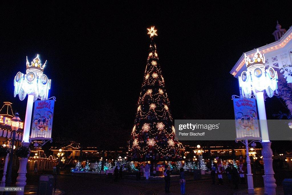 Eröffnung der Weihnachtssaison 2009, \'Town Square\'-Platz, \'Disne ...