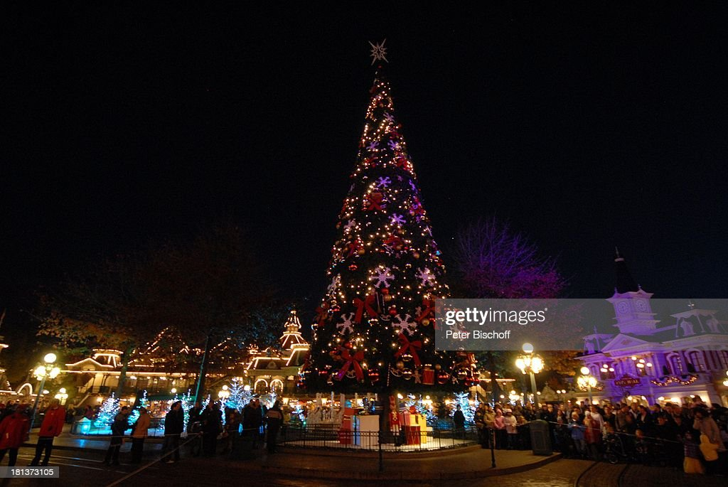 Eröffnung der Weihnachtssaison 2009, \'Town Square\'-Platz ...