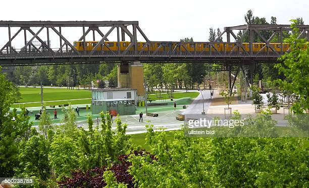 Eröffnung des Park am Gleisdreieck mit insgesamt rund 35 Hektar Flaeche