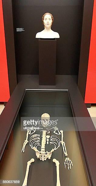 Eröffnung Sonderausstellung 3300 BC Mysteriöse Steinzeittote und ihre Welt Salzmünde im Vorgeschichtsmuseum des Landesamtes für Archäologie und...