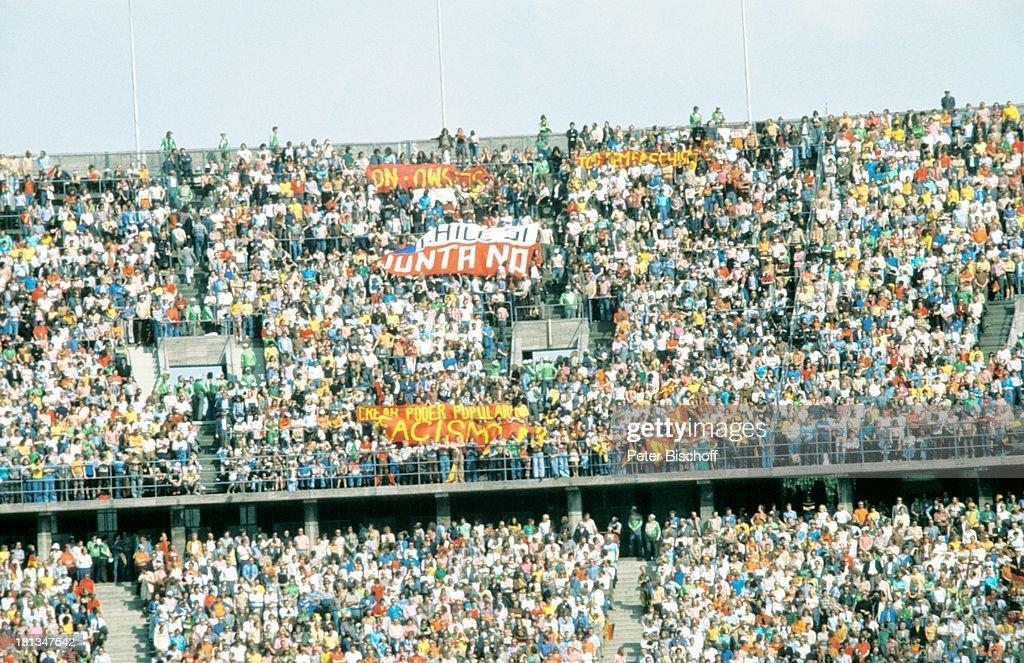 Eroffnungsspiel Der Fussball Weltmeisterschaft 1974