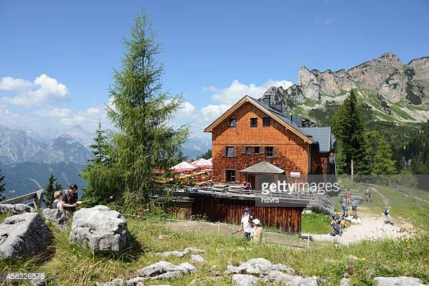 Erfurt Alpine hut in the valley Rofan