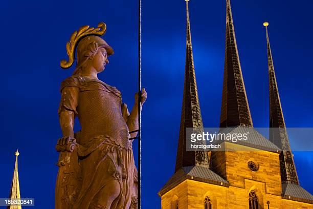 erfurt, scupture - erfurt stock pictures, royalty-free photos & images