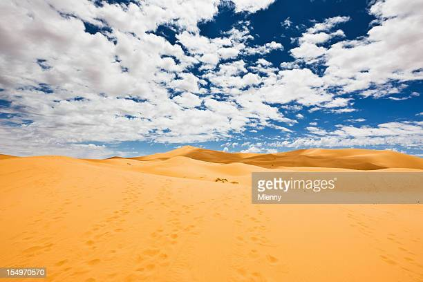Erg Chebbi paisaje Sahara Desert Sand Dunes Marruecos