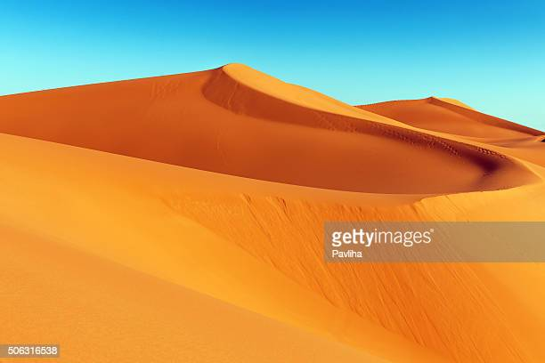 Erg Chebbi Sand Dune at Sunrise, Morocco, Africa