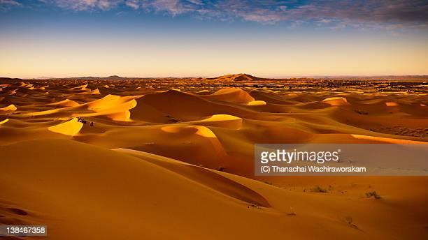 Erg Chebbi sand dunes,Merzouga,Morocco