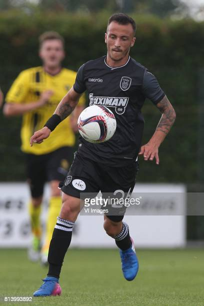 Ergys Kace of PAOK during the friendly match between VVV-Venlo and PAOK Saloniki at Sportpark de Schuytgraaf on july 12, 2017 in Arnhem, The...