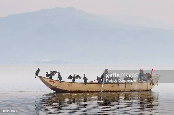 CONTENT] Erhai is an important food source for the local people who are famous for their fishing method their trained cormorants catch fish and...