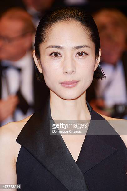 Eri Fukatsu attends ''Kishibe No Tabi' Premiere during the 68th annual Cannes Film Festival on May 17 2015 in Cannes France