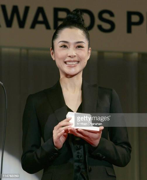 Eri Fukatsu during 17th Japan Best Jewellery Wearer Awards at Tokyo Big Sight in Tokyo Japan