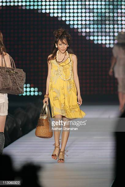 Eri Kaneko wearing Bunny Doll during the the Tokyo Girls Collection by girlswalkercom 2006 Spring/Summer
