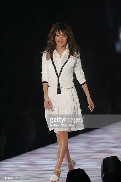 Eri Kaneko wearing Private Label during the Tokyo Girls Collection by girlswalkercom 2006 Spring/Summer