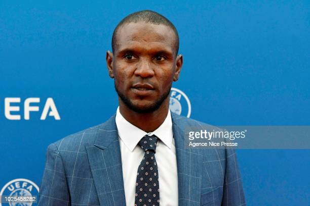 Eric Abidal during the 2018/2019 UEFA Champions League draw on August 30 2018 in Monaco Monaco