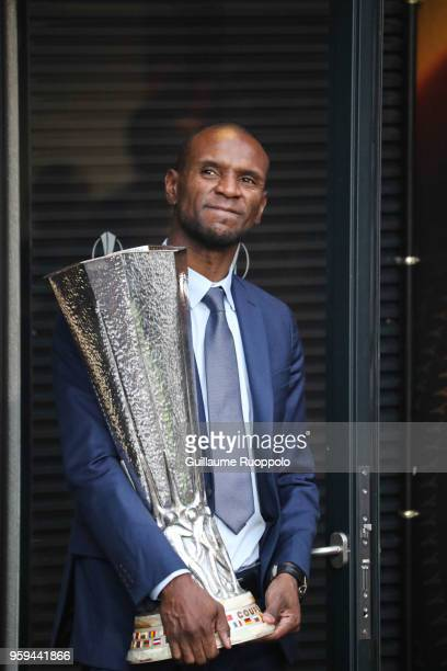 Eric Abidal during the Europa League Final match between Marseille and Atletico Madrid at Groupama Stadium on May 16 2018 in Lyon France