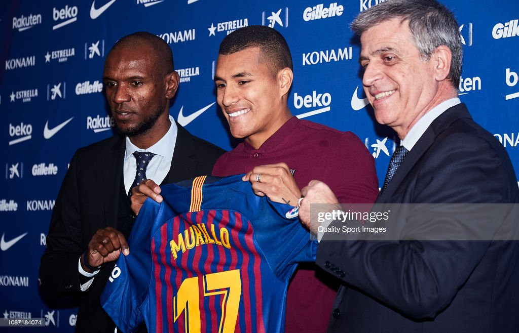 New Barcelona Signing Jeison Murillo  Unveiled : News Photo