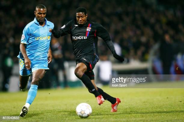 Eric ABIDAL / Kader KEITA Lyon / Barcelone Ligue des Champions
