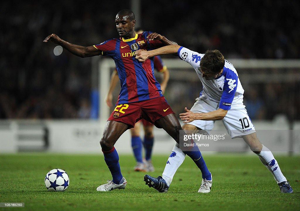 Barcelona v FC Copenhagen - UEFA Champions League