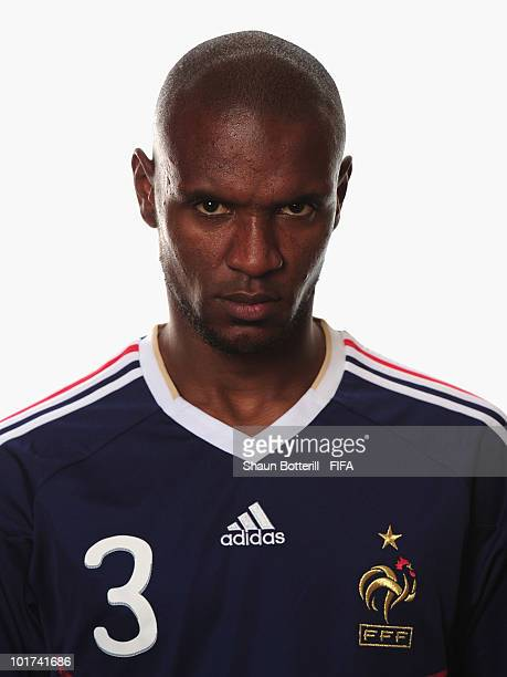 Eric Abidal of France poses during the official FIFA World Cup 2010 portrait session on June 7 2010 in George South Africa